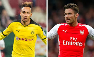 Sport: Arsenal increase Aubameyang's offer to £50.9m, Giroud to be included in deal
