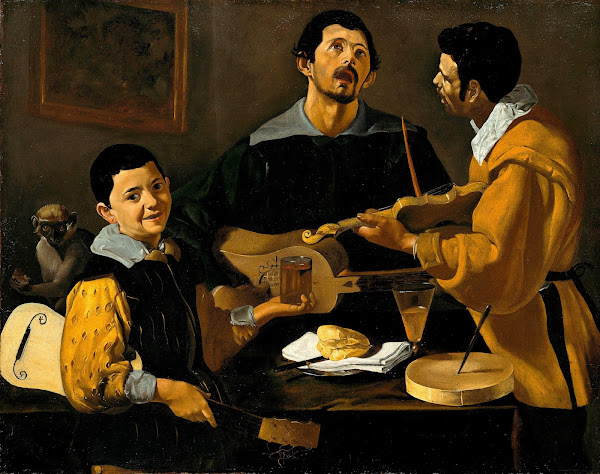 Диего Веласкес - Три музыканта (1616)