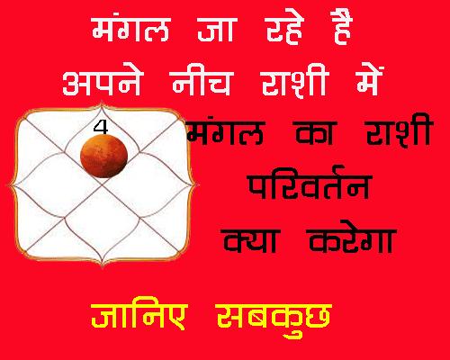 Mangal Kark Rashi Mai Kya Asar Dikhayega by hindi jyotish