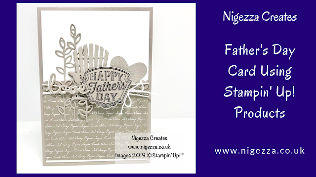 Father's Day Card Using Stampin' Up! Products