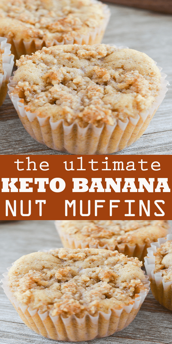 KETO BANANA NUT MUFFINS #KETO #BANANA #NUT #MUFFINS #KETOBANANANUTMUFFINS