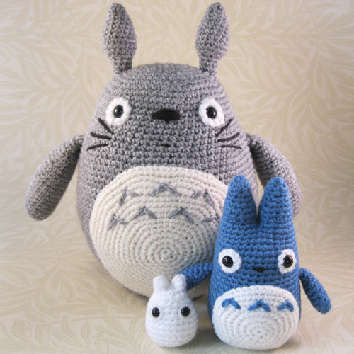 All the Totoros! - Free Patterns