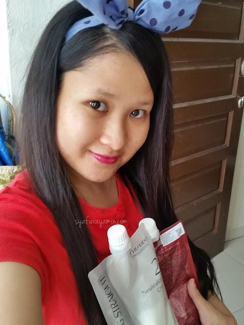 Rebonding Rambut Sendiri Di Rumah Syafierayamin Com Beauty Blogger Malaysia