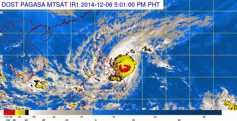 PAL, Cebu Pacific cancel flights due to Typhoon Ruby (December 7, 2014)