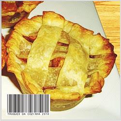 Mini torta de maçã americana