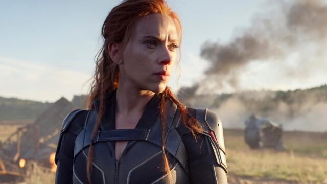Scarlett Johansson como Viuda Negra. Foto de Disney+.