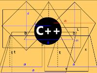 Contoh Kode Program C++ (Menghitung Luas Bangun Datar)