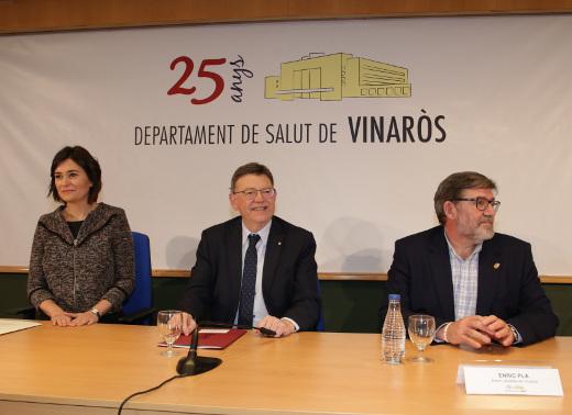 Anunciada la ampliación y mejora de las infraestructuras y equipos del Hospital de Vinaròs
