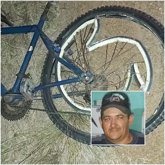 Acidente entre moto e bicicleta deixa uma vítima fatal em Aporá