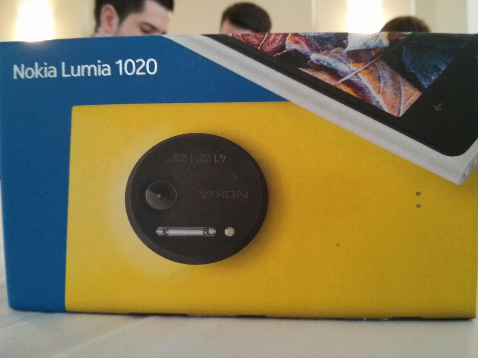 My New Nokia Lumia 1020