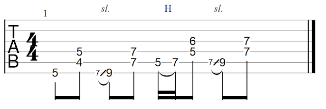 Sebastian Bluschke Country Blues Rhythmus 1A