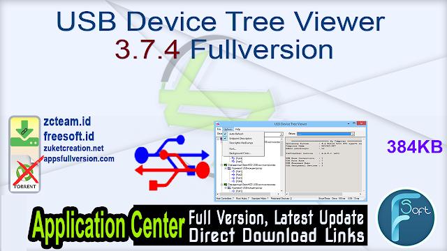 USB Device Tree Viewer 3.7.4 Fullversion