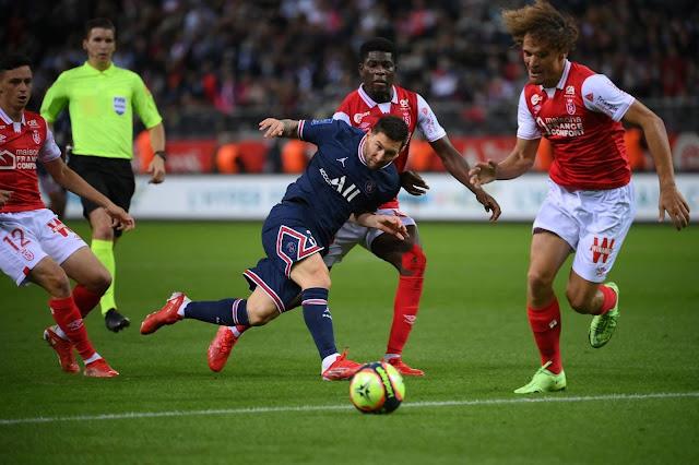 صور.. ظهور ميسي للمرة الأولى مع باريس سان جيرمان فى الفوز على ستاد ريمس