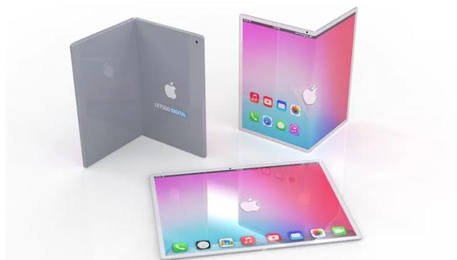 Apple iPad Foldable Display Render - T2UPDATE.COM