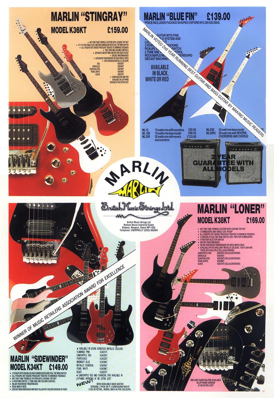 More Marlin Guitars - Late 1980s | Planet BotchPlanet Botch - blogger