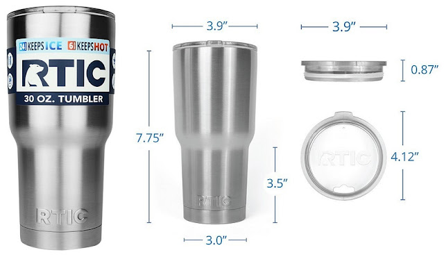 RTIC 30oz Tumbler Mug for only $16 (reg $60)