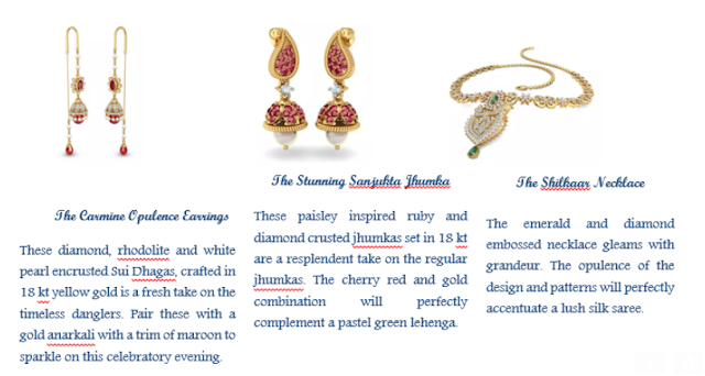 BlueStone.com brings you contemporary jewellery collection this Karwa Chauth