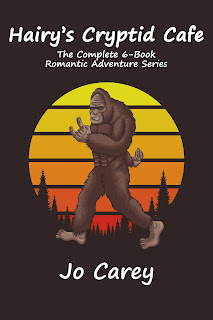 Hairy's Cryptid Cafe: The Complete 6-Book Romantic Adventure Series by Jo Carey cover image