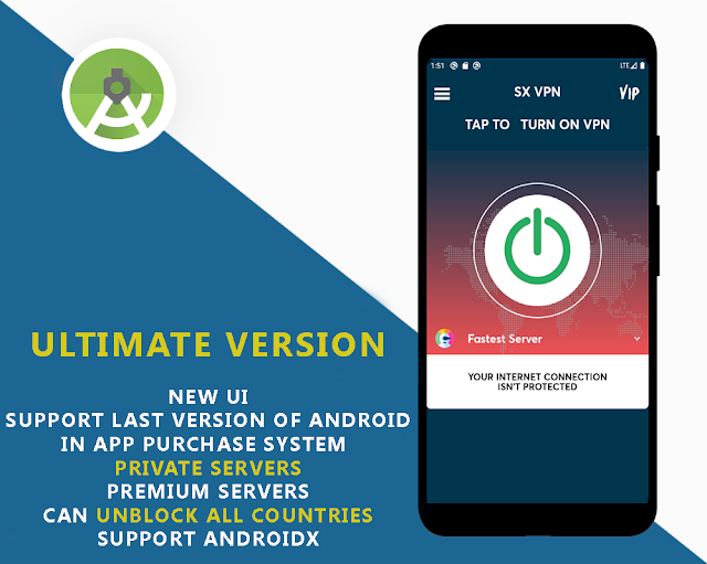 TouchVpn Pro New Servers  +  3 Versions - 5