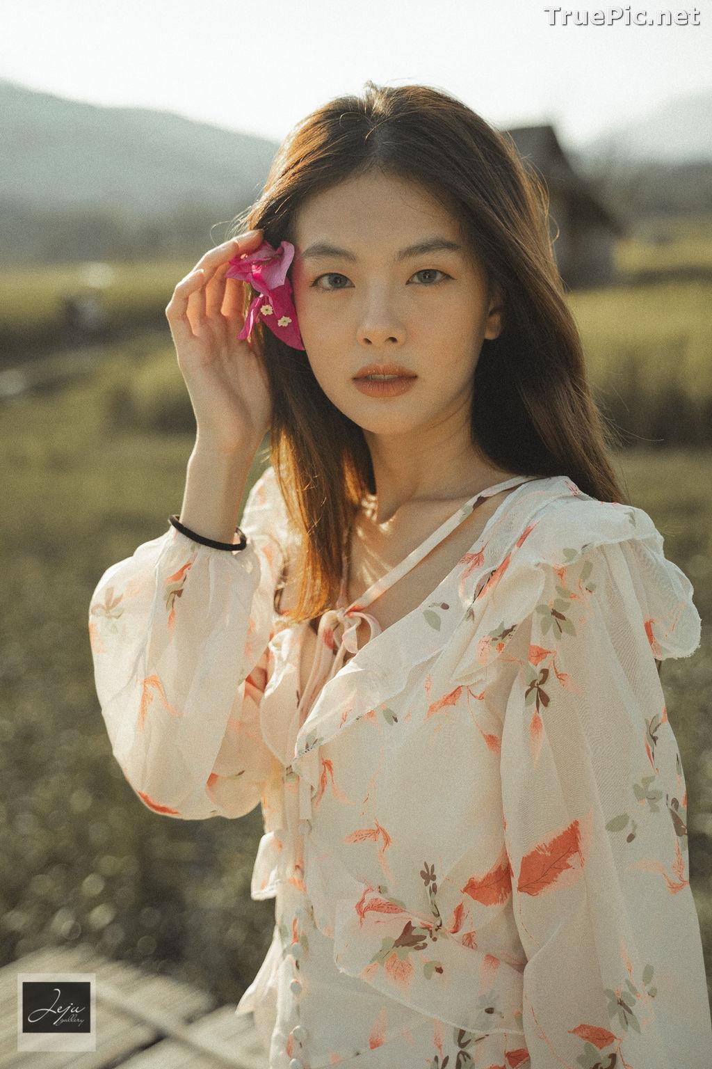 Image Thailand Hot Model - Nut Theerarat - Nutwch Black Pink - TruePic.net - Picture-4
