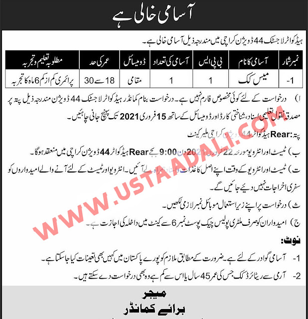 Government Jobs For Intermediate Qualification In Pakistan - Jobs 2021