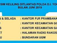 Jadwal SIM Keliling Sleman Juni 2019 | Ditlantas Polda DIY