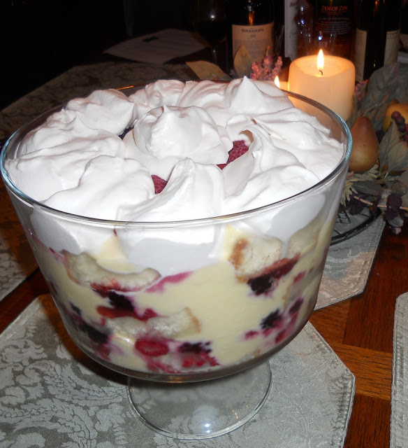Impress Your Holiday Guests with an Amazing Mixed Berry Trifle