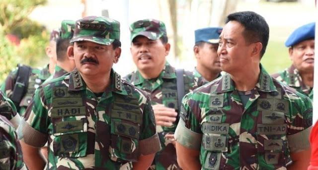 Jenderal Andika Perkasa Calon Kuat Wakil Panglima TNI