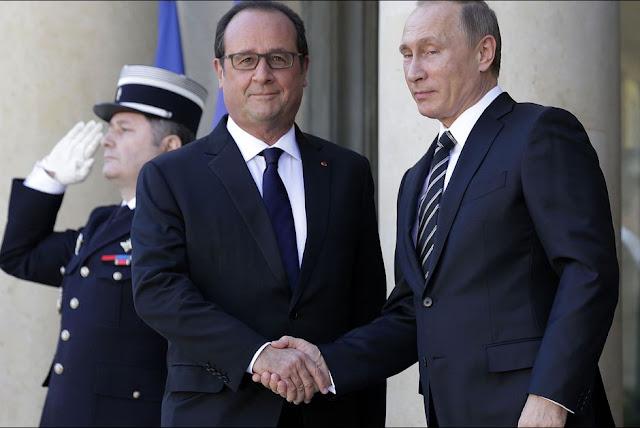 O presidente russo, Vladimir Putin cancelou uma visita planejada para a França