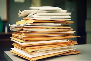 Bloody paperwork