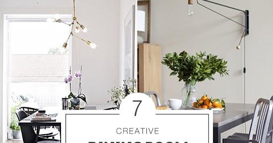 7 creative dining room lighting ideas   My Paradissi