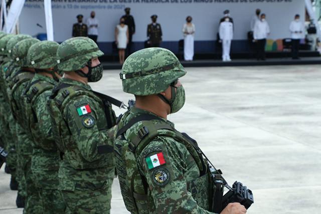 Ejército Mexicano conmemora la Gesta Heroica de los Niños Héroes de Chapultepec