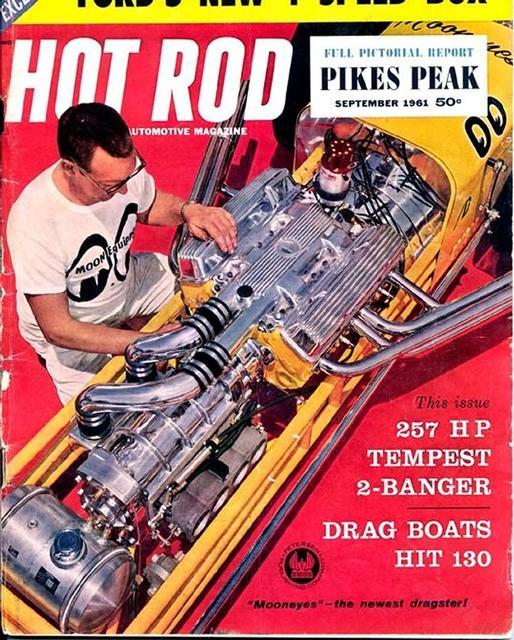 Hot Rod Cartoons 51 Fn March 1973: Dragmaster: HOT ROD MAGAZINE SEPTEMBER 1961
