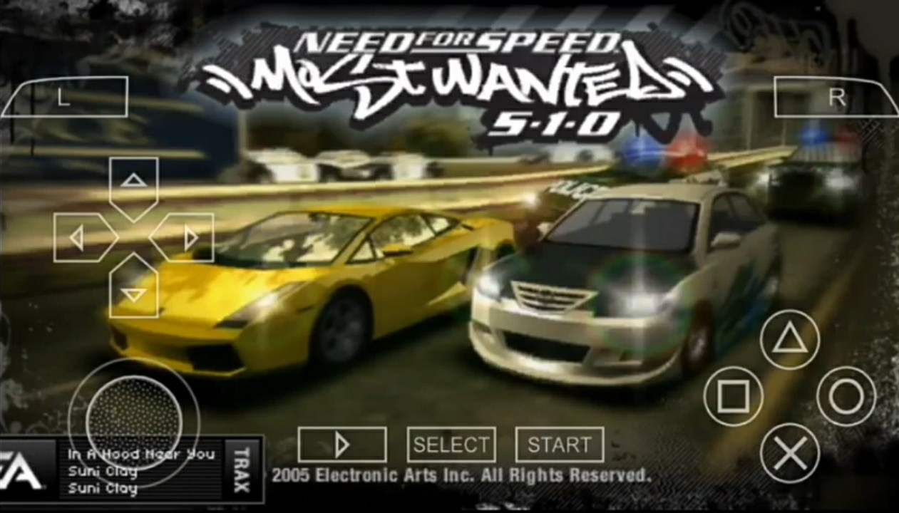 Download Need For Speed Most Wanted ISO/CSO Savedata PPSSPP Android