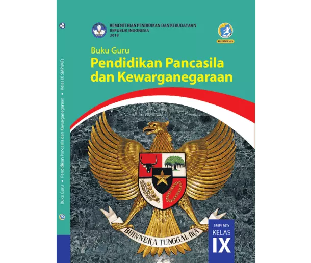 Buku Guru PPKn SMP MTs Kelas 9 K13 Revisi 2018