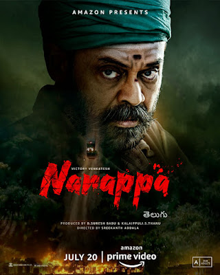 Narappa Movie (2021): Amazon Relese Date Watch Online And Cast Or Storyline.