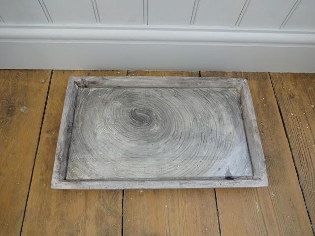Concrete Vanity Tray