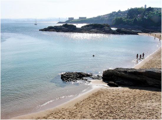 buongiorno A Coruña - spiaggia di Espiñeiro