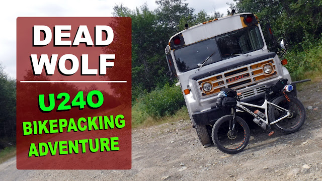 Bikepacking Adventure U24O Adventure Riding Arkel Norco Sasquatch Dead Wolf Pond Newfoundland Fatbike Republic Fat Bike Arkel Rollpacke