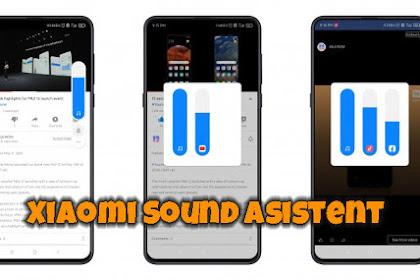 Fitur Keren MIUI Agar Bisa Multiple Audio Setting, Multiple Audio Route, Sound Assistent