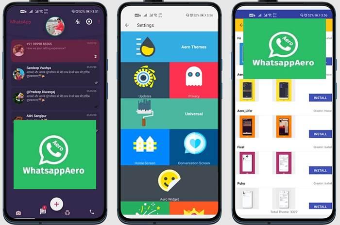 Download WhatsApp Aero Terbaru 2021
