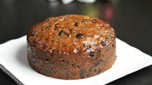 A typical Christmas Cake as per Tradition for Christians
