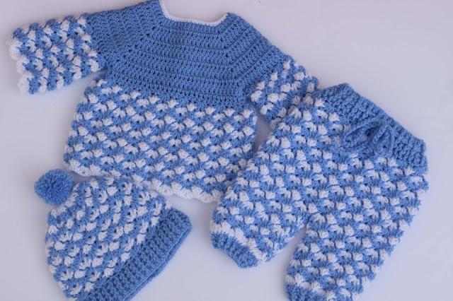 1 - Crochet Imagen Gorro conjunto a crochet y ganchillo por Majovel Crochet