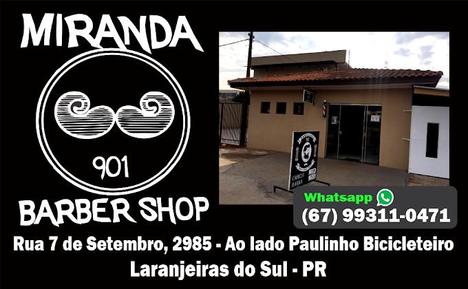 MIRANDA Barber Shop em Laranjeiras do Sul