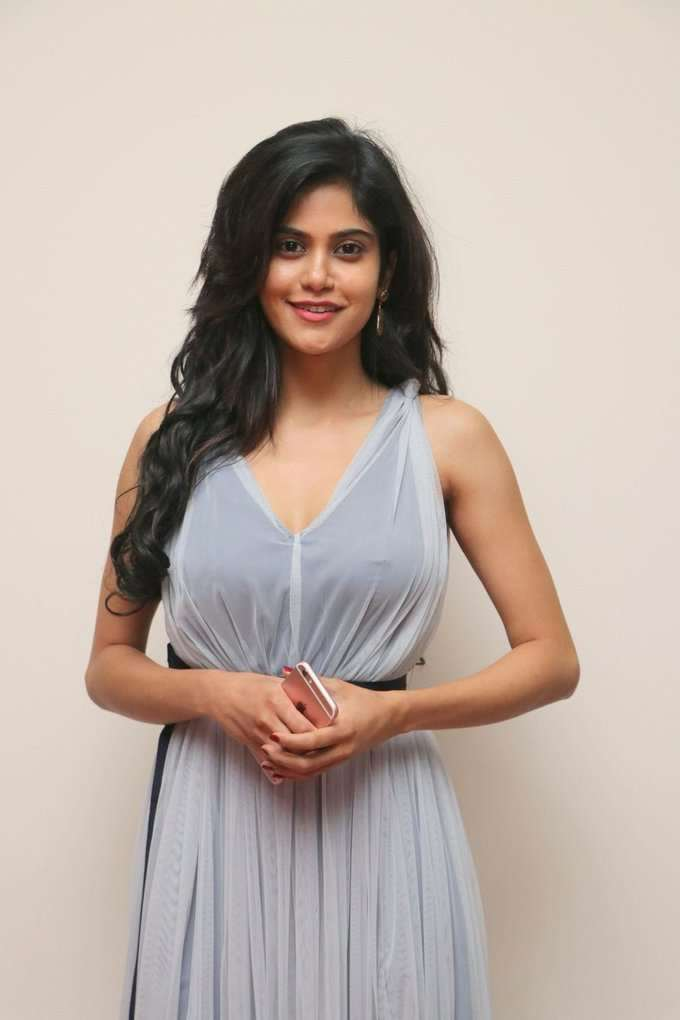Aaditi Pohankar @ Gemini Ganeshanum Suruli Raajanum Movie Audio Launch