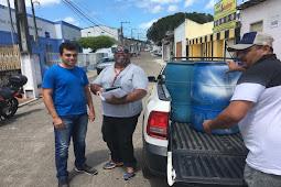 Cpac entrega coletores de materiais recicláveis ao município de Riachuelo