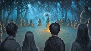 Harry affronta Voldemort armato della Pietra della Resurrezione