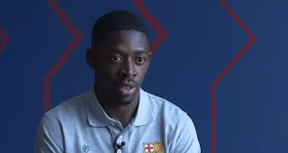 Dembele speak on how he has improved since joining Barca
