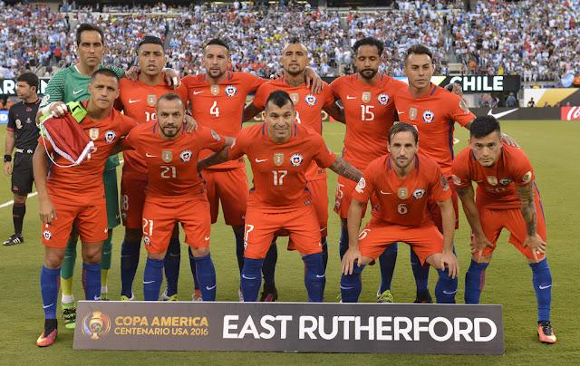 Formación de Chile ante Argentina, Copa América Centenario, 26 de junio de 2016