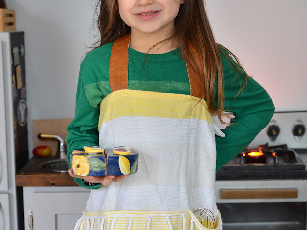 How to Sew a Farmhouse Apron from a Tea Towel for Kids